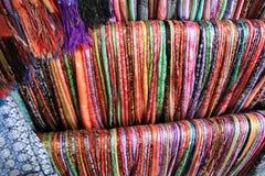 Kleurrijke stof Stock Afbeeldingen