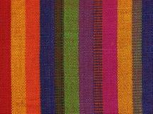 Kleurrijke stof Royalty-vrije Stock Afbeeldingen
