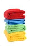 Kleurrijke stofdoeken Stock Afbeelding