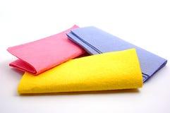 Kleurrijke stofdoeken royalty-vrije stock afbeelding