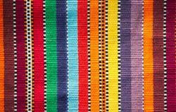 Kleurrijke stoffenachtergrond Royalty-vrije Stock Afbeeldingen