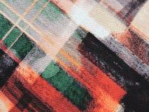 Kleurrijke stoffentextuur Royalty-vrije Stock Foto