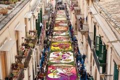 Kleurrijke straat Royalty-vrije Stock Fotografie