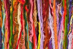 Kleurrijke strengdraad Royalty-vrije Stock Foto
