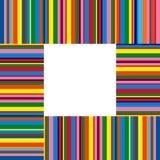 Kleurrijke strepen Stock Foto's