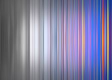 Kleurrijke strepen die aan grijze strepen langzaam verdwijnen Royalty-vrije Stock Afbeeldingen