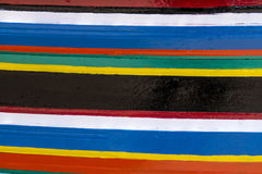 Kleurrijke strepen van kleuren Royalty-vrije Stock Fotografie
