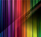 Kleurrijke strepenachtergrond Stock Foto