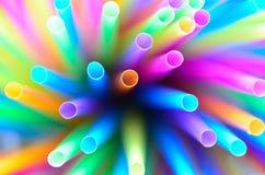 Kleurrijke strowerveling Stock Foto