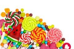 Kleurrijke suikergoed en lollys royalty-vrije stock foto