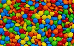 Kleurrijke suikergoedachtergrond Stock Afbeeldingen