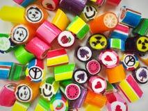 Kleurrijke suikergoedachtergrond Stock Afbeelding