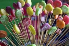 Kleurrijke suikergoedachtergrond stock fotografie