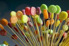 Kleurrijke suikergoedachtergrond royalty-vrije stock afbeelding