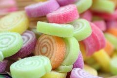 Kleurrijke suikergoedachtergrond royalty-vrije stock afbeeldingen