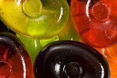 Kleurrijke suikergoedachtergronden Royalty-vrije Stock Foto's