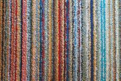 Kleurrijke tapijttextuur Stock Fotografie