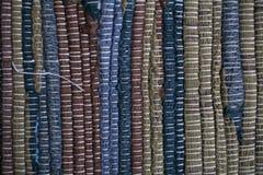 kleurrijke tapijttextuur Achtergrond van $c-andalusisch tapijt Jarapa Royalty-vrije Stock Foto's