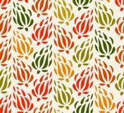 Kleurrijke tapijtwerk bloemenachtergrond Eindeloos decoratief patroon Het naadloze patroon kan voor behang worden gebruikt, vult  stock illustratie