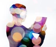 Kleurrijke Technologie Stock Foto's