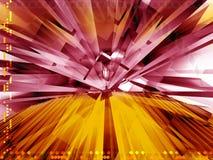 Kleurrijke technologie bedrijfssamenstelling Stock Afbeelding