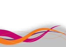 Kleurrijke technologische achtergrond stock illustratie