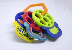 Kleurrijke teether Stock Fotografie