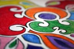 Kleurrijke tekeningen Royalty-vrije Stock Foto's