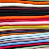 Kleurrijke Textiel Stock Afbeelding