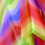 Kleurrijke textielachtergrond royalty-vrije stock fotografie
