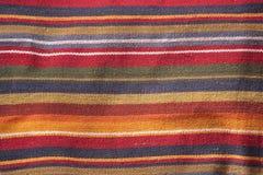 Kleurrijke textieltextuur Stock Foto's