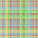 Kleurrijke textuur met traditioneel vierkant patroon Royalty-vrije Stock Foto's