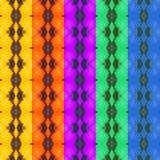 Kleurrijke textuur vijf van vlindervleugel Royalty-vrije Stock Foto