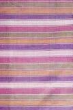 Kleurrijke Thaise lendendoekstof Stock Foto's