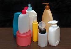 Kleurrijke toiletries royalty-vrije stock afbeelding