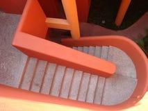 Kleurrijke trap in Mexicaanse toevlucht Stock Foto's