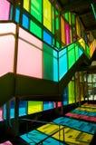 Kleurrijke treden stock afbeelding