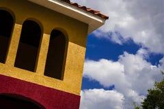 Kleurrijke Tropische Architectuur Royalty-vrije Stock Fotografie