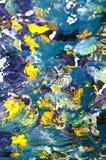 Kleurrijke tropische vissen Stock Foto