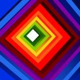 Kleurrijke tunnel Royalty-vrije Stock Afbeeldingen