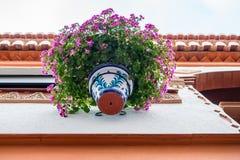 Kleurrijke typische details van Andalusia royalty-vrije stock foto