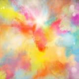 Kleurrijke uitbarsting stock afbeeldingen