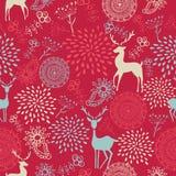 Kleurrijke uitstekende backgro van het elementen naadloze patroon Royalty-vrije Stock Foto
