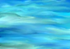 Kleurrijke vage abstracte achtergrond in blauwe tonen stock afbeelding