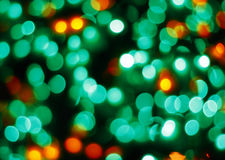 Kleurrijke vage lichten Royalty-vrije Stock Foto