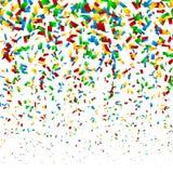 De Achtergrond van confettien Stock Foto's