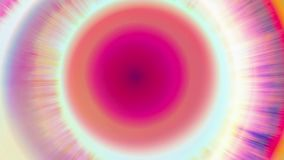 Kleurrijke van de het patroonwerveling van de bandkleurstof abstracte de motieachtergrond stock footage