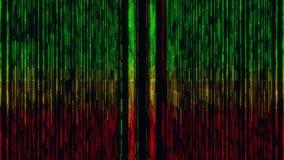 Kleurrijke van de de Stijlvj Lijn van Matrijsgridlines Jamaïca de Motieachtergrond vector illustratie