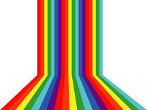 Kleurrijke vectorachtergrond Royalty-vrije Stock Foto's