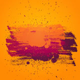Kleurrijke vectorachtergrond met artictic verf Stock Fotografie